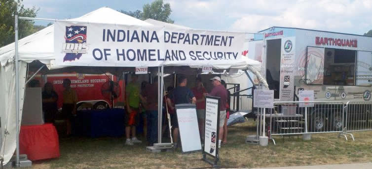 Indiana Quake Cottage at the Indiana State Fair